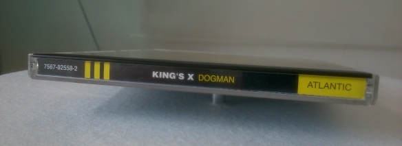 King's X Dogman CD spine