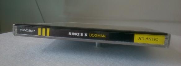 King's X Dogman CD spine