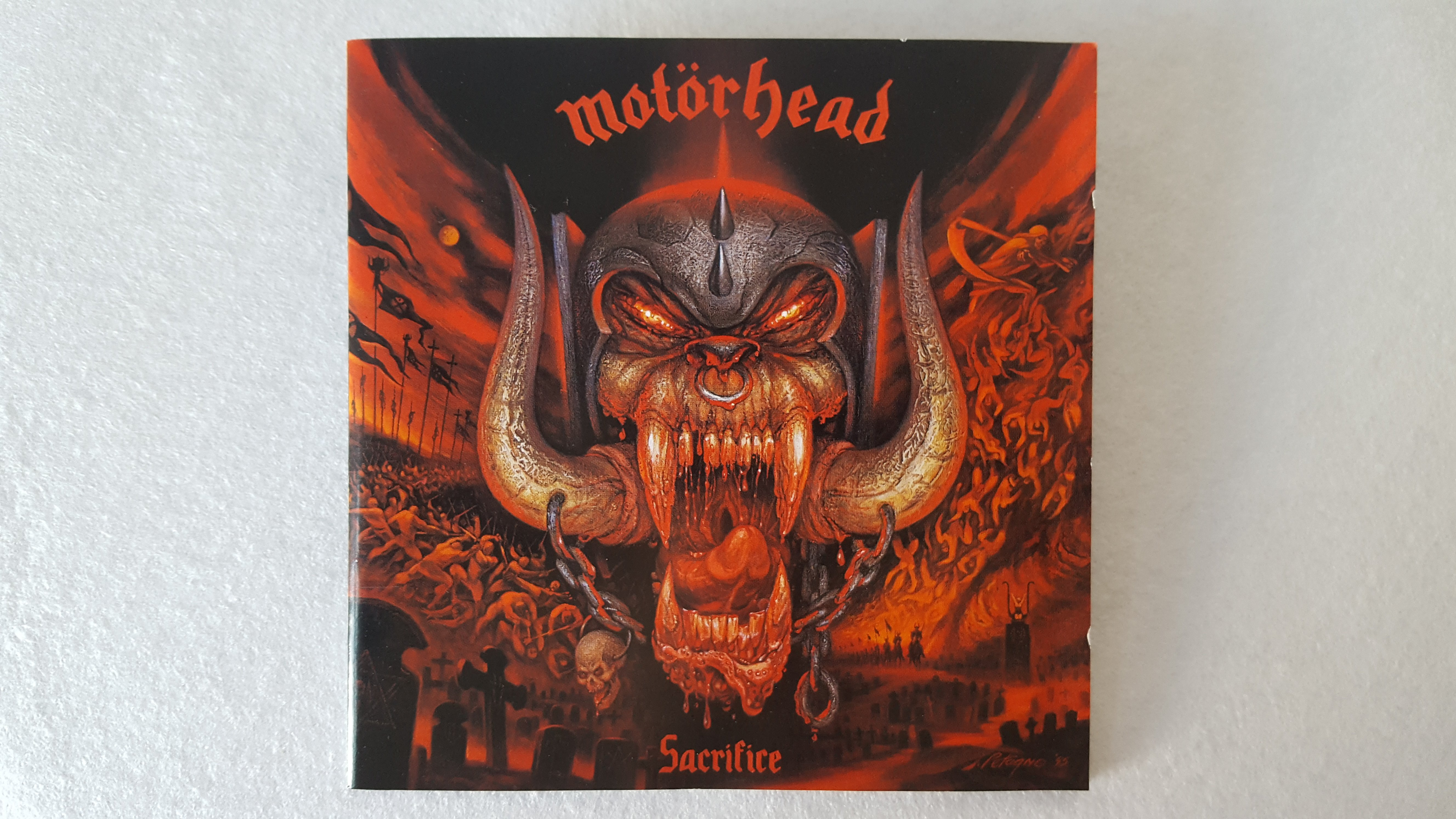 MOTORHEAD: Sacrifice | amplifier wordsmith