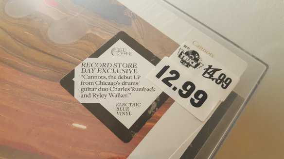 Charles Rumback and Ryley Walker - Cannots LP