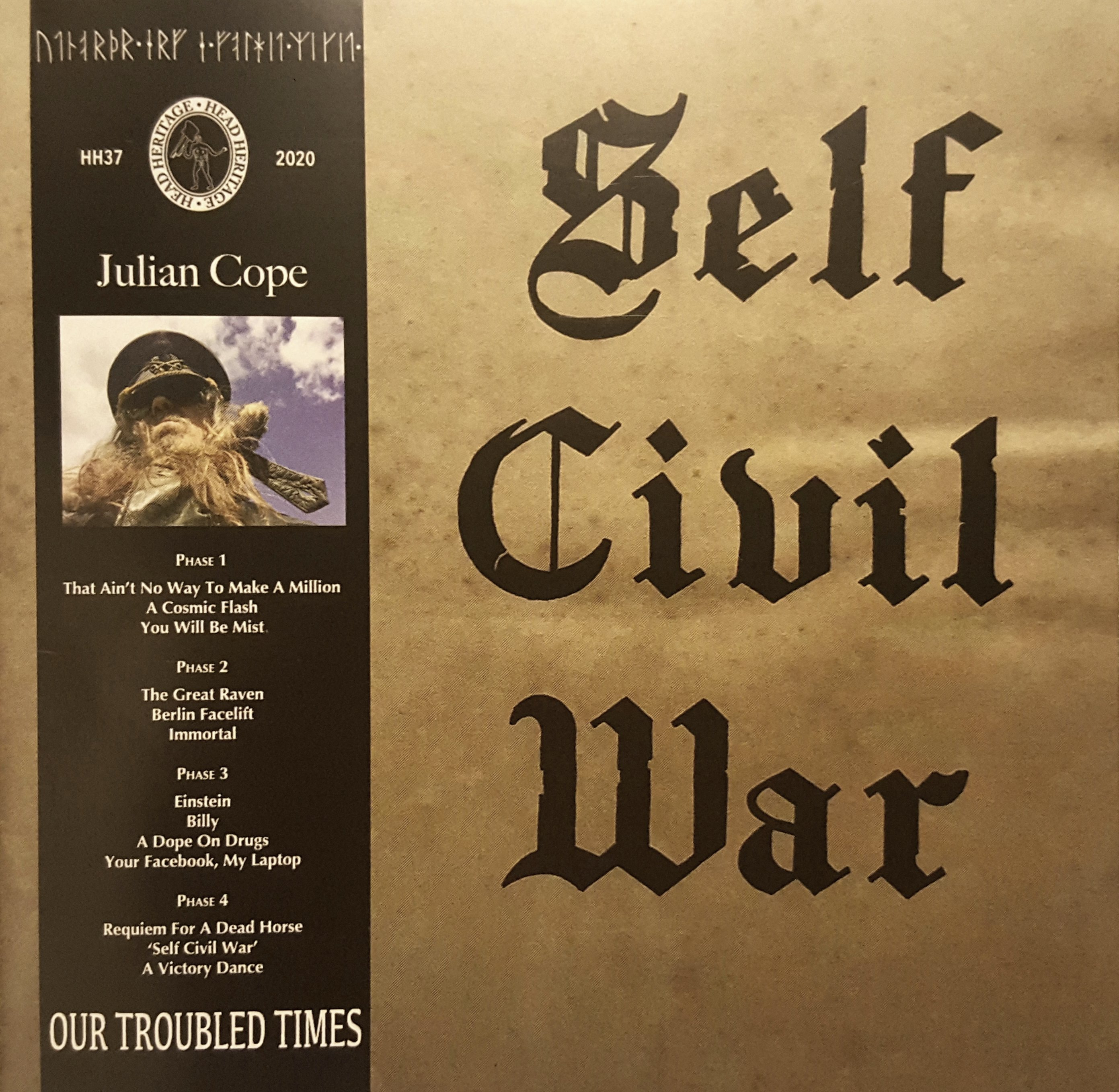 Julian Cope Self Civil War
